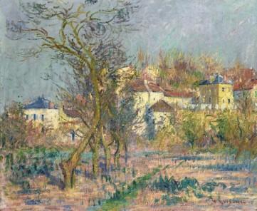 Картина  «Эрмитаж. Цветущие сливовые деревья» Лувзо Эрнест