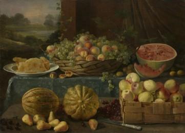 Картина «Натюрморт с фруктами и медом» Иван Хруцкий