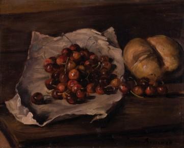 Картина «Натюрморт с вишнями» Эмиль Бернар
