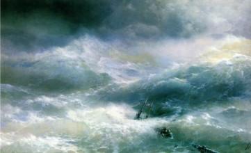 Картина «Волна» Иван Айвазовский