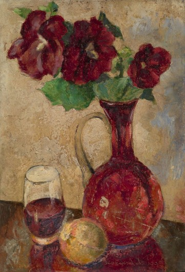 Картина «Натюрморт с цветами» Лапшин Георгий
