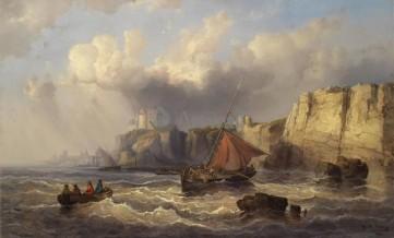 Картина «Рыбалка у берега» Рютнер Йозеф