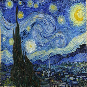 Картина «Звездная ночь»  Винсент Ван Гог