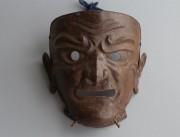 Маска самурая сомэн