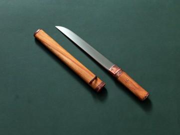 Историческая реплика японского меча танто айкути II