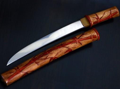 Историческая реплика японского меча танто айкути