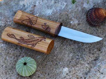 Историческая реплика японского ножа кайкен