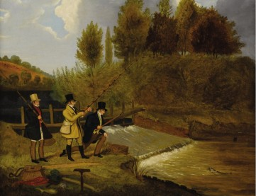 Картина Приписывается Джеймсу Поларду «Рыбалка»